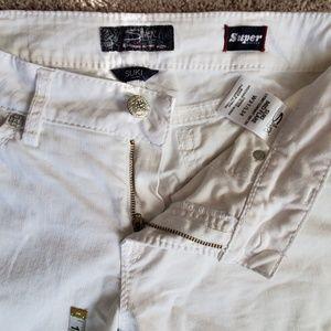 Suki White bootcut by Silver Jeans